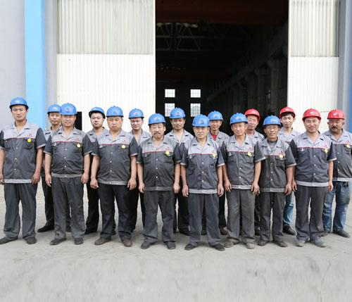 Botou Jianxin Casting Tools Factory Team