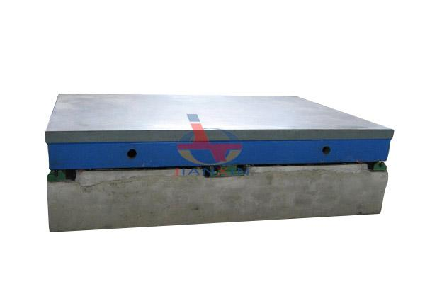 Cast Iron Surface Plate for Lineation