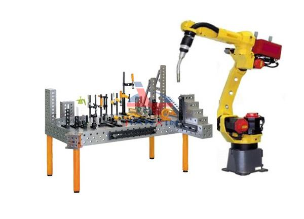 3D flexible welding table