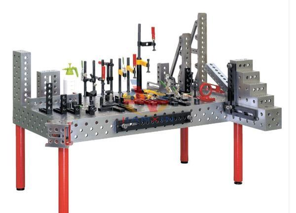 Custom cast iron surface table