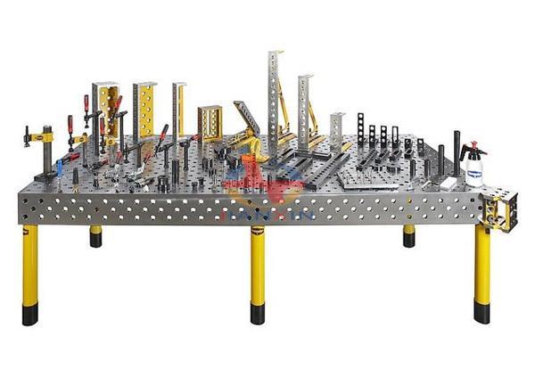 Cast Iron 3D Welding Table