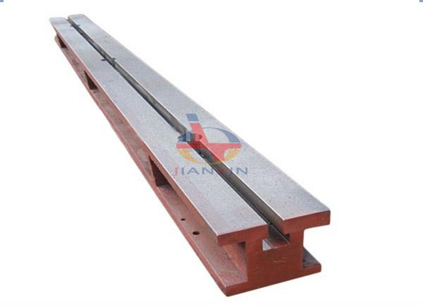 Cast Iron T-slot Floor Guide Rail Platform