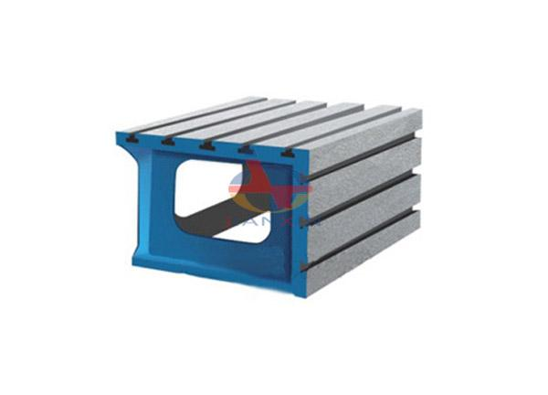 T-slot Cast Iron Square Box