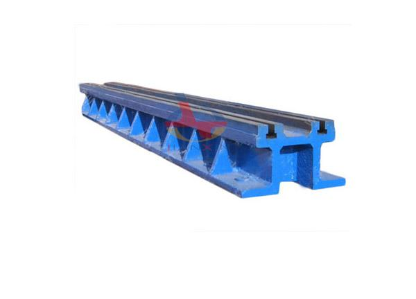 Cast Iron Double T-slot Floor Guide Rail Platform