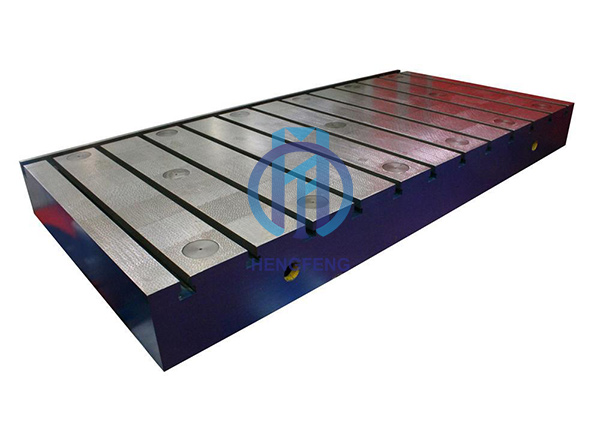 Cast Iron T-slot Bed Plate