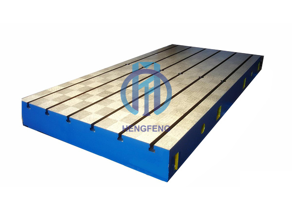 Cast Iron Surface Plate with T-slot