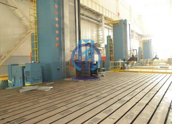 Floor Type Boring and Milling Machine Workbench