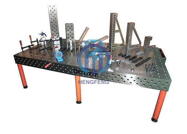 China 3D welding table