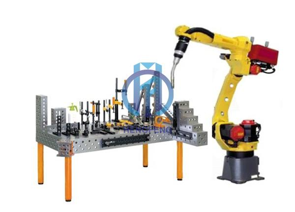 3D flexible welding table