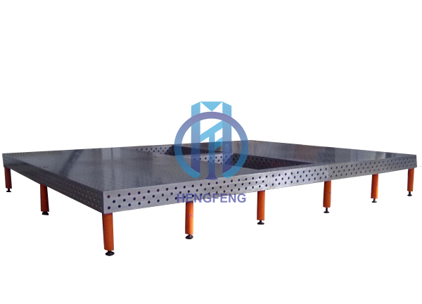 3D welding table with stand