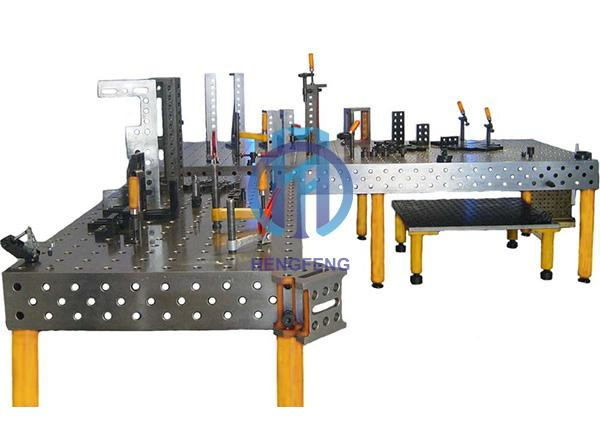 Cast Iron 3 Dimensional Welding Table D28
