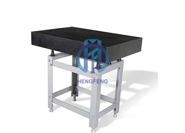 High Precision Black Granite Surface Plate with Stand