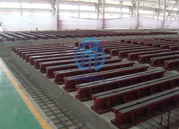 Cast Iron T-slot Floor Guide Rail