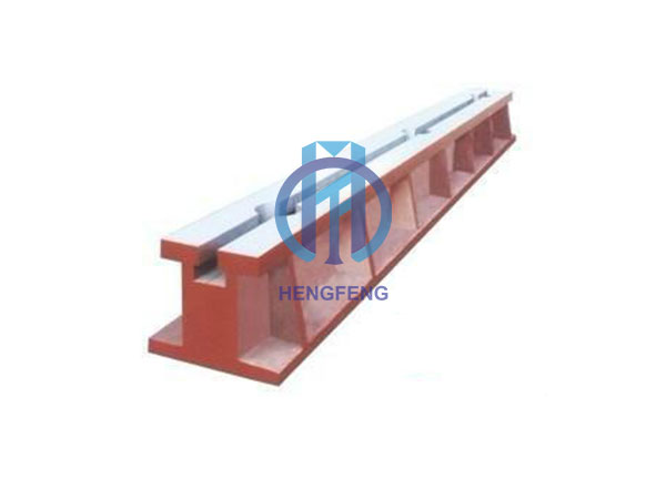 cast iron T-slot ground rail