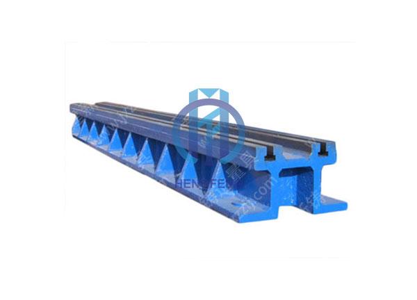 Cast Iron Double T-slot Floor Guide Rail Platform
