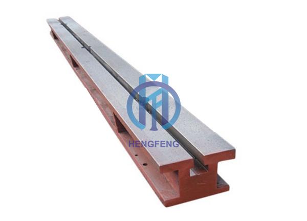 Cast Iron T-slot Floor Guide Rail Platform