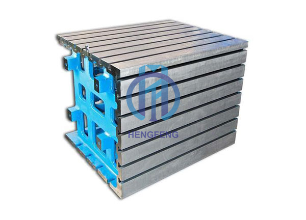 Cast Iorn Square Box with T-slot