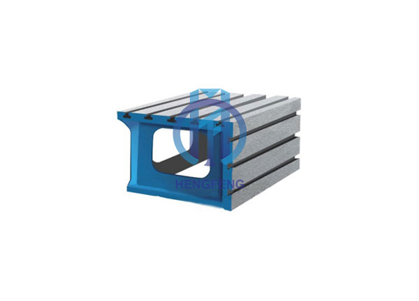 T-slot Cast Iron Square Box