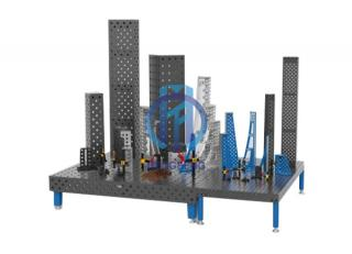 Difference between 3D Flexible Welding Table And The Traditional Welding Platform